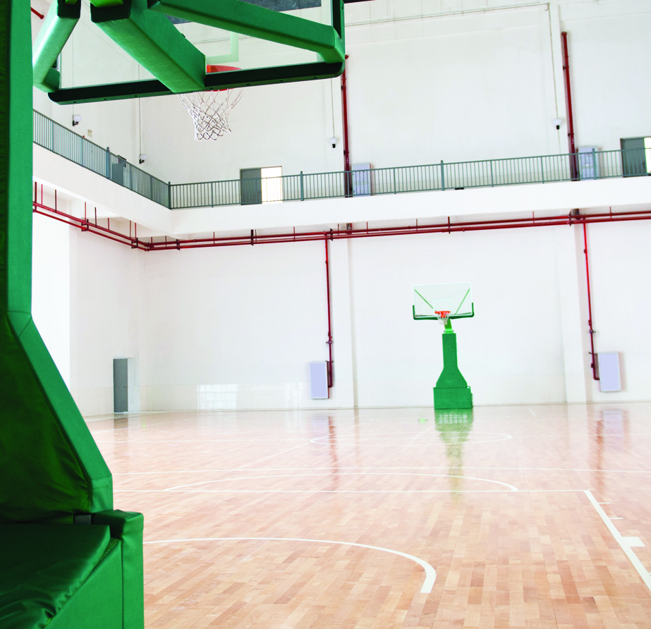 Basketball court lighting for Average cost racquetball court